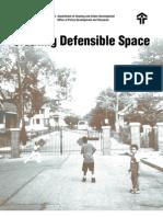 Oscar Newman - Defensible Space