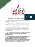 DESCOBERTA DO VÍRUS DA AIDS