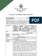 SC PIO Summary of Jalosjos v. COMELEC, G.R. No. 205033, June 18, 2013