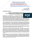 Press Release- Latitude Longitude