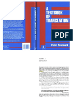 Peter Newmark - Textbook of Translation