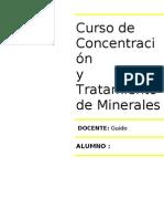 Cuestionario N_1 Concentracion de Minerales 3