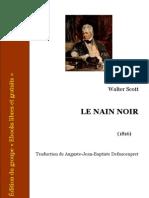 Le Nain Noir - Walter Scott