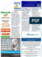 Pharmacy Daily for Wed 19 Jun 2013 - OTC ad reforms, transparency review, Janssen cancer buy, new products and more