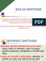 A IMPORTÂNCIA DA SANTIDADE
