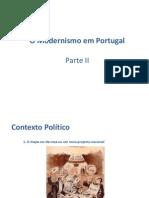 O Modernismo em Portugal_Parte II.ppt