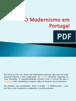 O Modernismo em Portugal_Parte I.ppt