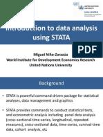 2012 05 29 Data Analysis Using Stata