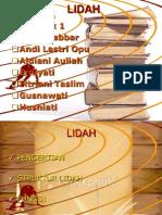 Ppt Lidah Klp 1