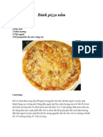 Bánh pizza nấm