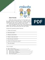 3_Development a Worksheet 1 Best Friends