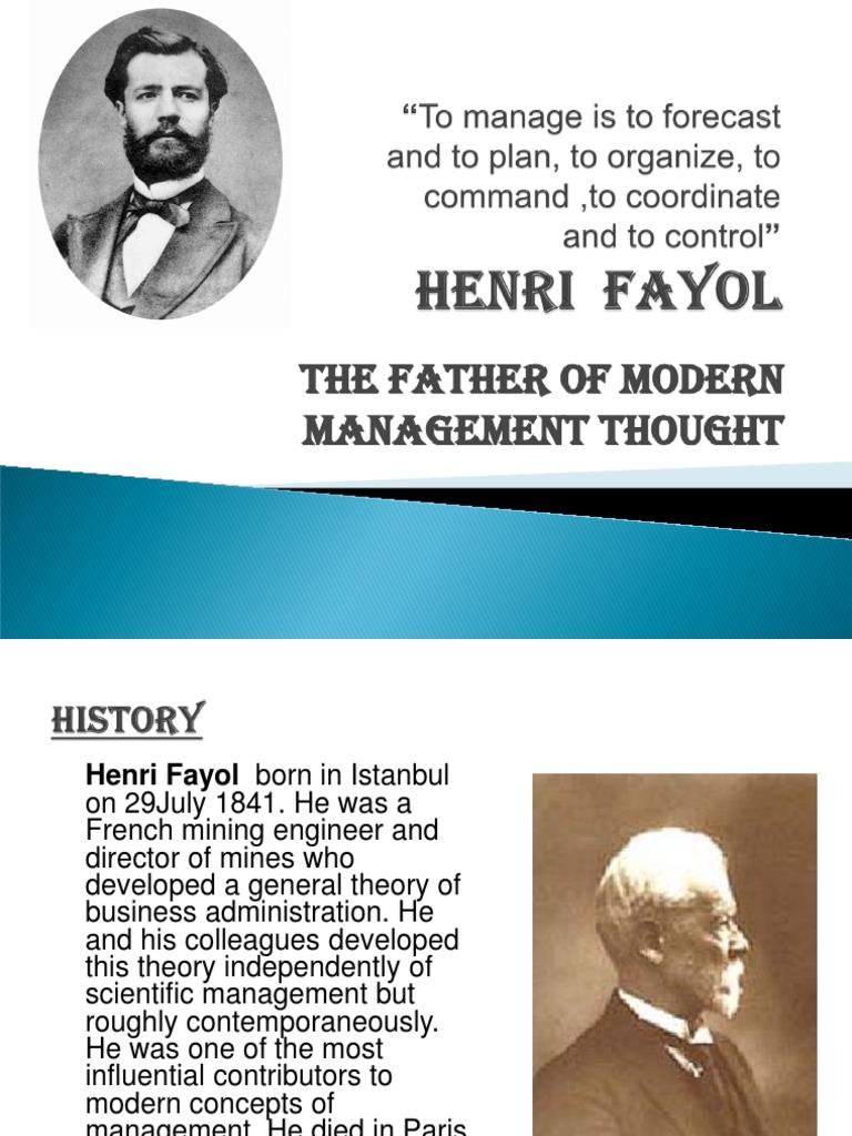 Henri Fayol (2) [Autosaved] | Leadership | Leadership