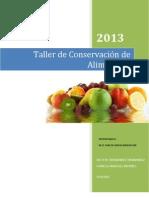 Taller Refrigeracion 2013
