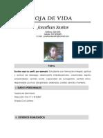 Formato Hoja de Vida Jonathan Santos
