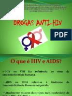 tópicos de química drogas anti HIV