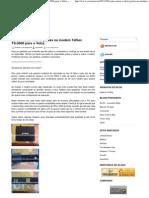 Como Rotear e Abrir Portas No Modem TelSec TS-9000 Para o Velox -- Blog Do Ciro Mota