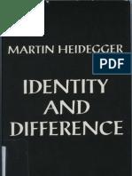 Heidegger Identity