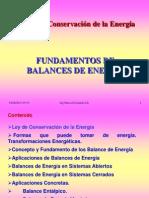 Fundamentos de Balance de Energia