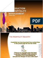 lecture 1 introduction to hospitality management
