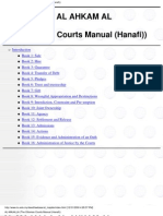 The Ottoman Courts Manual