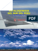 Metalogenesis Del Sur Del Peru Jasm Junio Cip Moquegua-unam 2012