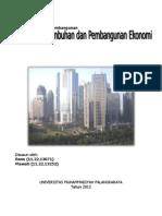 Makalah Strategi Pertumbuhan Dan Pembangunan Ekonomi