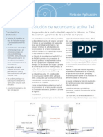 1plus1 MHS Application Note - Spanish 2