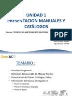 Interpretación de Manuales y Catálogos