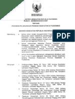 KMK No. 585 Ttg Pedoman Pelaksanaan Promosi Kesehatan Di Puskesmas