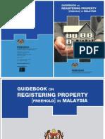 Guidebook Registering Property