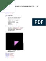 Tugas Praktikum Grafika Komputer 1 - 10