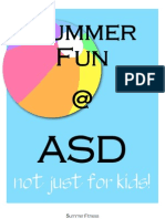 Summer Fun at ASD