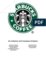Analysis Starbucks