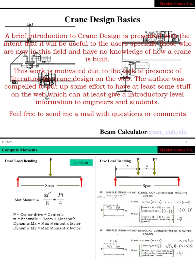 Crane   Bending   Beam (Structure)