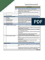 Qualification Evaluation