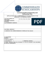 App Form 2013 Kenya