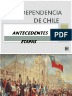 3.- Independencia de Chile
