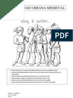 3.3 La Sociedad Urbana Medieval