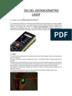 Utilidades del distanciómetro