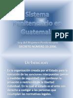 Sistema Penitenciario en Guatemala