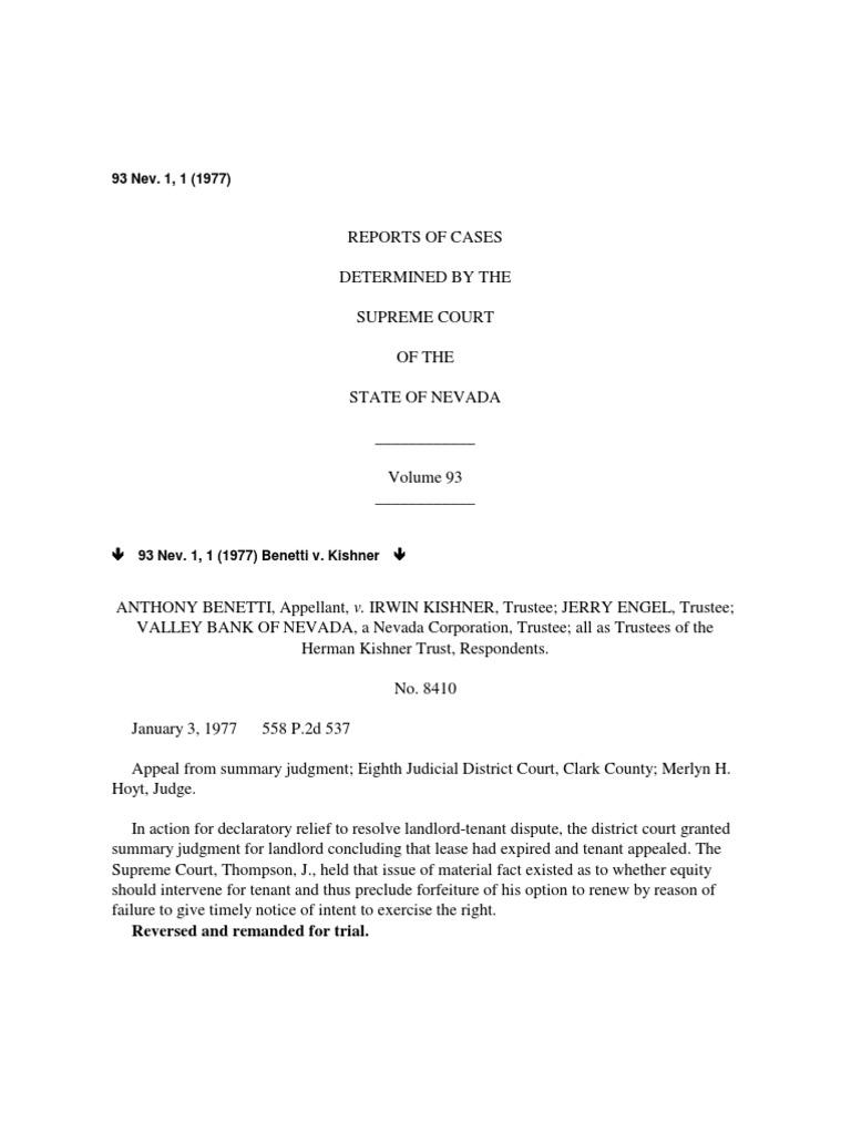 Nevada reports 1977 93 nevpdf lease defamation altavistaventures Gallery
