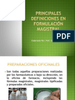 principalesdefinicionesenformulacinmagistral-110225200419-phpapp01