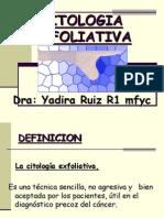 CITOLOGIA-EXFOLIATIVA