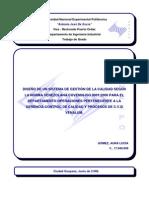 Diseno Sistema Gestion Calidad Iso 9001 2000 Venalum