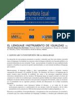 El Lenguaje Instrumento de Igualdad[1]