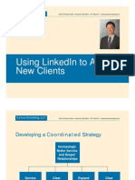 Using Linked Into Attract New Clients