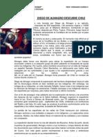 Diego de Almagro Descubre Chile
