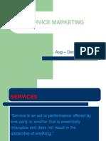 Intro to Service Marketing