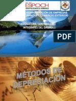 Métodos de Deprecición