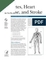 Diabetes Heart Disease and Stroke